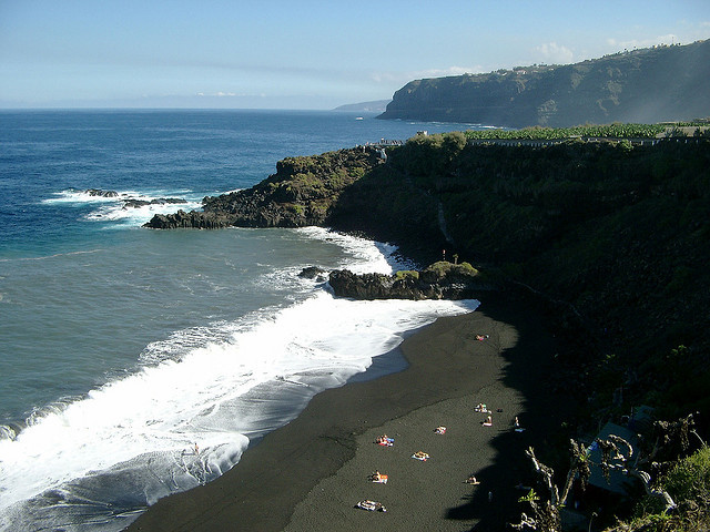 Pláž Playa de Bollullo