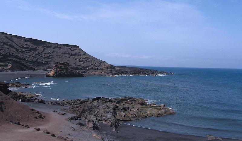 Pláž Playa de los Muertos