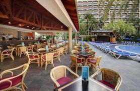 Gran Canaria a hotel Barceló Margaritas s terasou