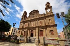 Kostel Santiago de los Caballeros v Gáldaru