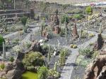 """Guatiza - zahrada """"Jardin de Cactus"""""""