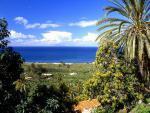 Kanárské ostrovy, pobřeží ostrova La Gomera